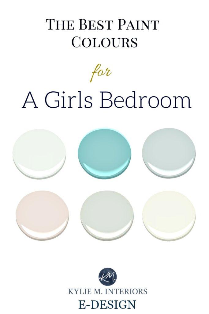 Benjamin moore pink paint girls room