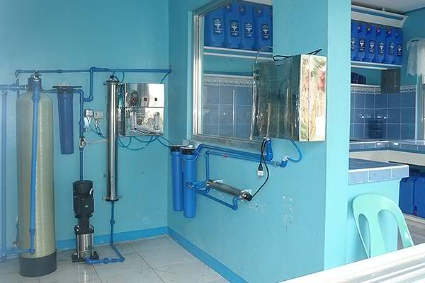 Система фильтрации воды