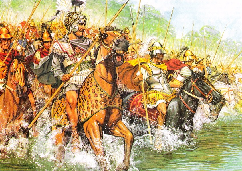 Войска александра македонского