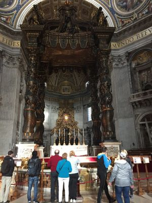 サンピエトロ大聖堂内部4