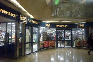 ミラノ駅地下スーパー