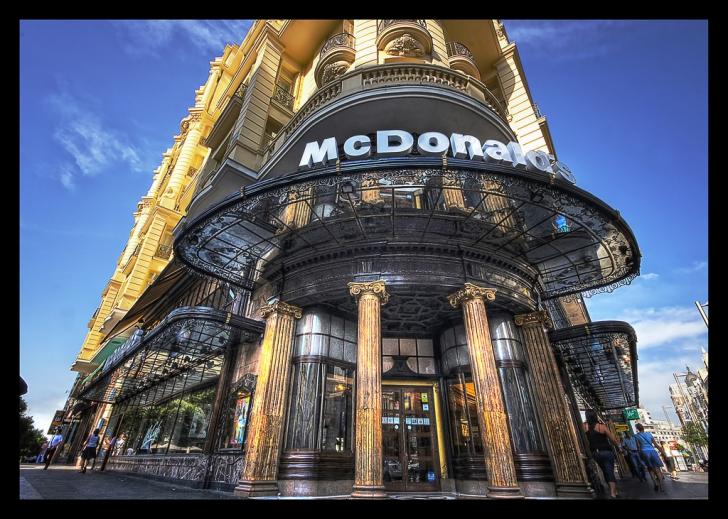 Сколько ресторанов макдональдс в мире