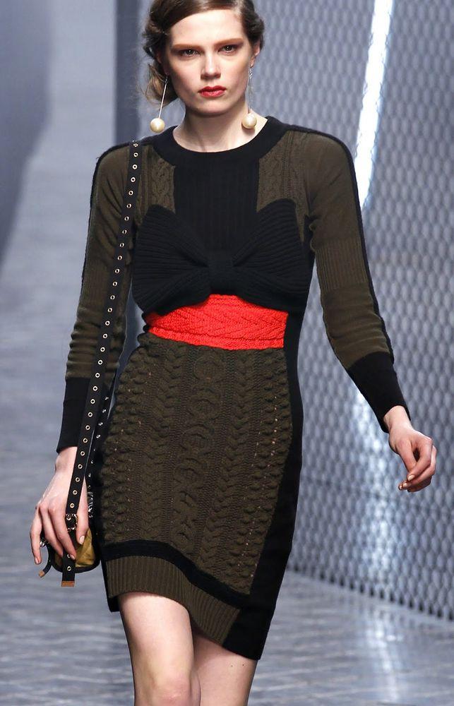 мода ручное вязание