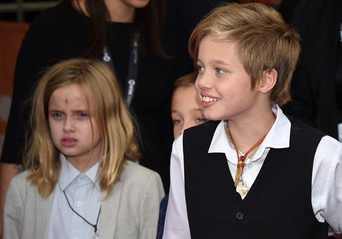 Shiloh jolie-pitt twins
