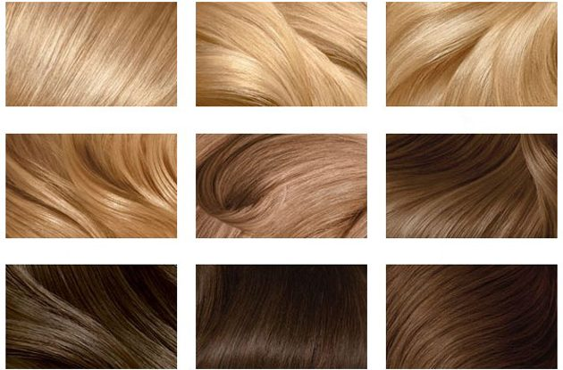 Как красят волосы