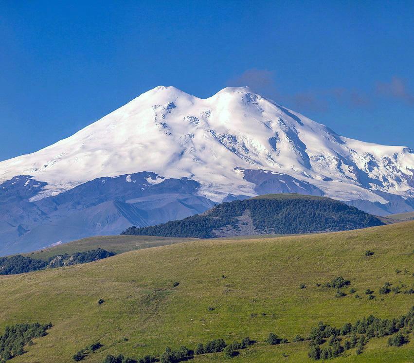 Информация про гору эльбрус