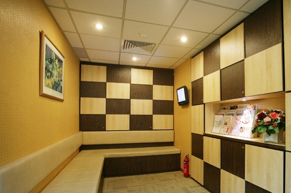waiting area specialist dental review