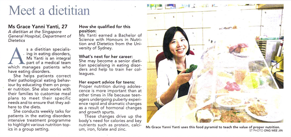 see a dietitian Singapore