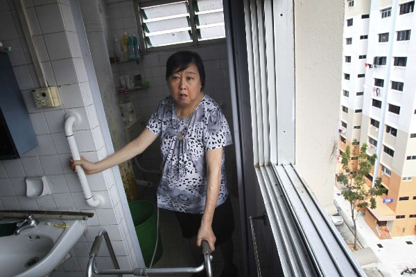 Mobility aid eldercare Singapore