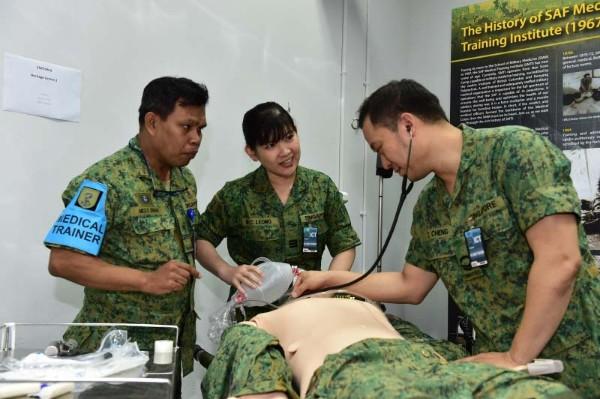 SAF Medical Officer 3