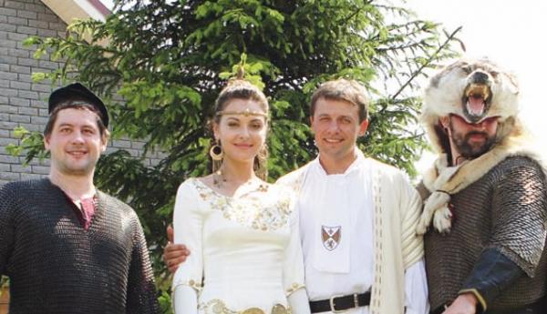Фото со свадьбы Ольги Фадеевой с Самохваловым