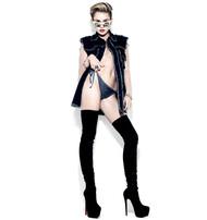 Голая актриса, певица Miley Cyrus фото, эротика, картинки - фотосессия из мужского журнала GQ на Xuk.ru! Фото 9