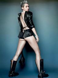 Голая актриса, певица Miley Cyrus фото, эротика, картинки - фотосессия из мужского журнала GQ на Xuk.ru! Фото 15