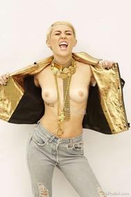 Голая актриса, певица Miley Cyrus фото, эротика, картинки - фотосессия из мужского журнала GQ на Xuk.ru! Фото 102