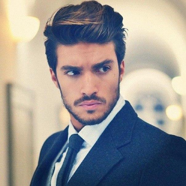 Мужчины красивые с бородой