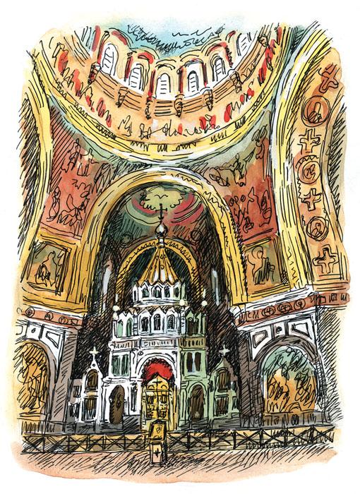 В москве главная церковь