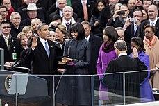 Barack obama inauguration ceremony