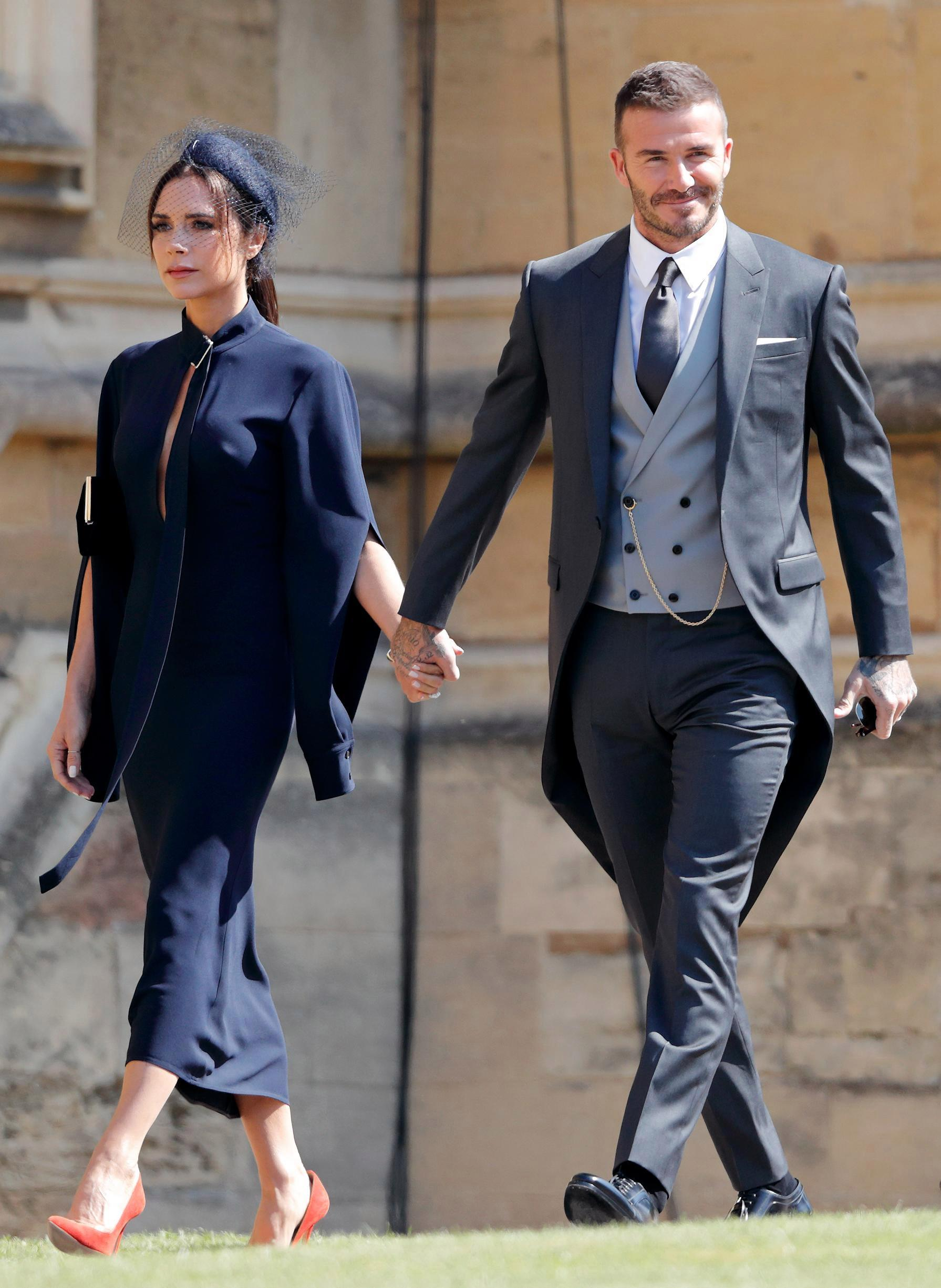 The power couple were among the guests to attend the wedding between Prince Harry and Meghan Markle