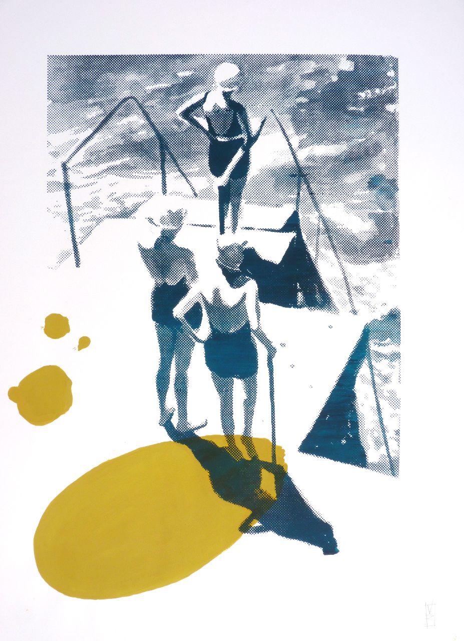 Bain de soleil  - Valérie Betoulaud
