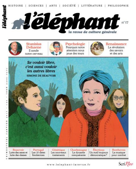 En couverture !  - Karine Daisay pour l'éléphant magazine