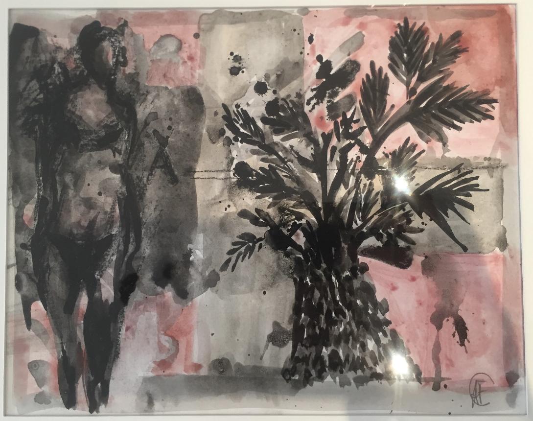 Paysage tropical  de Alain Fenet