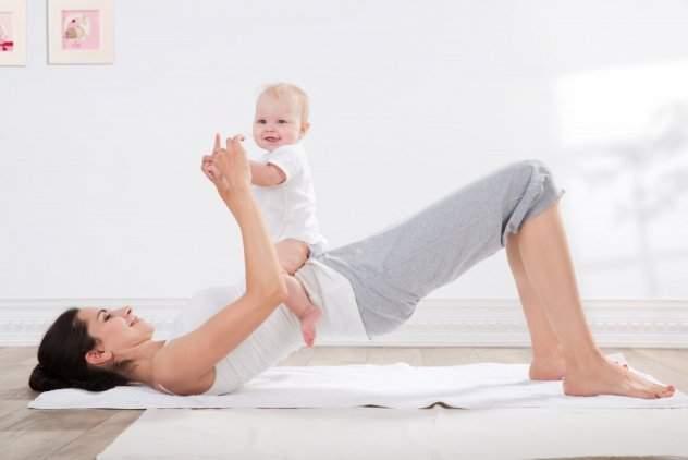 когда после родов можно качать пресс и крутить обруч