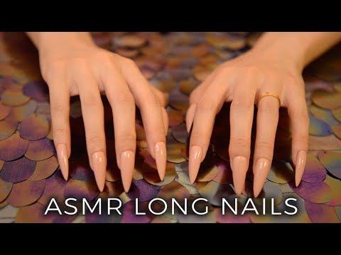 Long nails scratch video