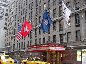 Drake hotel nyc site