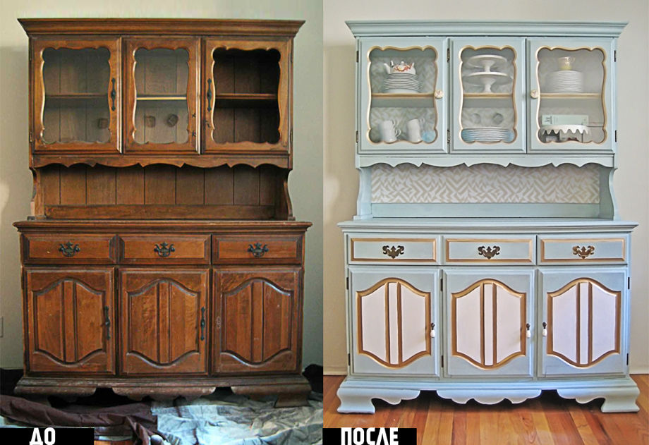 Можно ли покрасить шкаф
