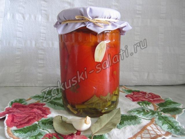 красный перец маринованный по-армянски
