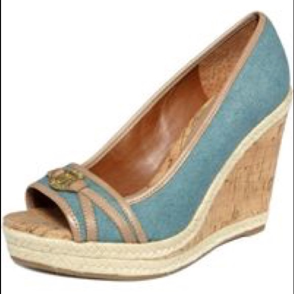 Ivanka trump shoes lark espadrille wedges