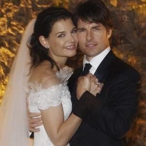 How long were tom cruise and katie holmes married