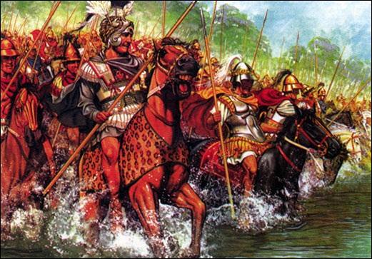 Государство александра македонского