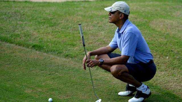 Barack obama vacation photos