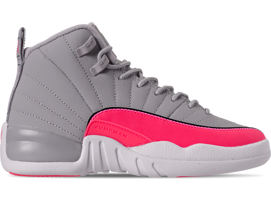 The new pink and gray jordans