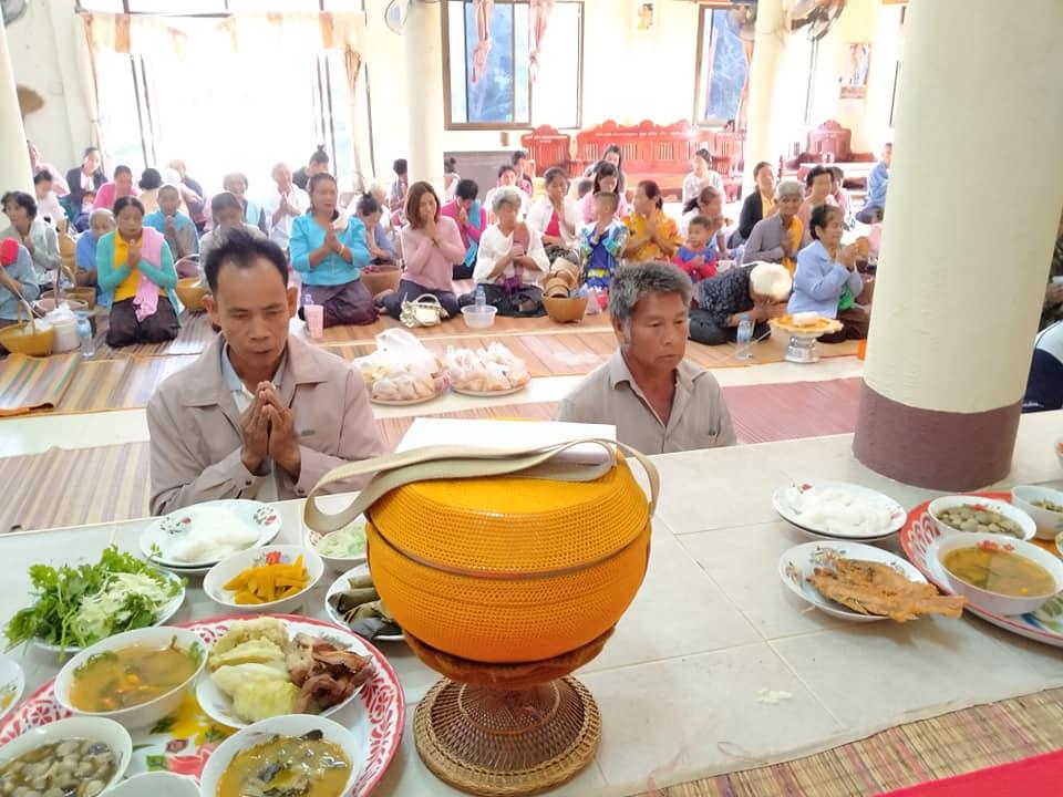 งานประเพณีบุญเดือน 3 (บุญข้าวจี่) ที่วัดบ้านป่าเพิ่ม วันที่ 1 กุมภาพันธ์ 2563