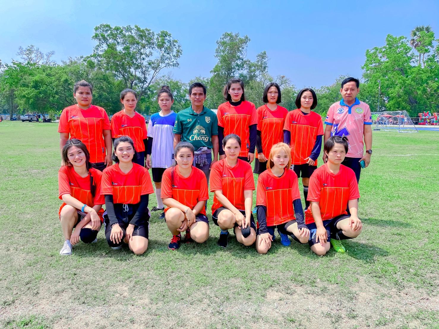 ทีมนักกีฬาบ้านป่าเพิ่ม หมู่ 11 งาน อบต.กีฬาต่อต้านยาเสพติด ปี 2564