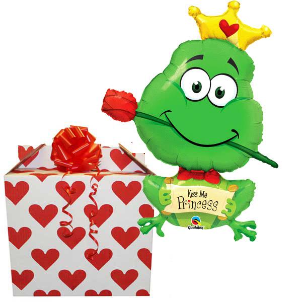 Kiss Me Princess 39 inch Helium Balloon