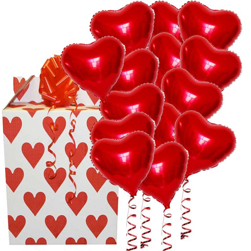 The 14 Balloons of Love for the 14th February!