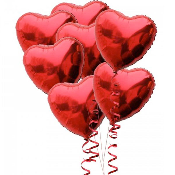 Red Hearts and Helium Package