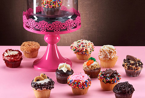 CRUMBS Gourmet Assorted Mini Cupcakes