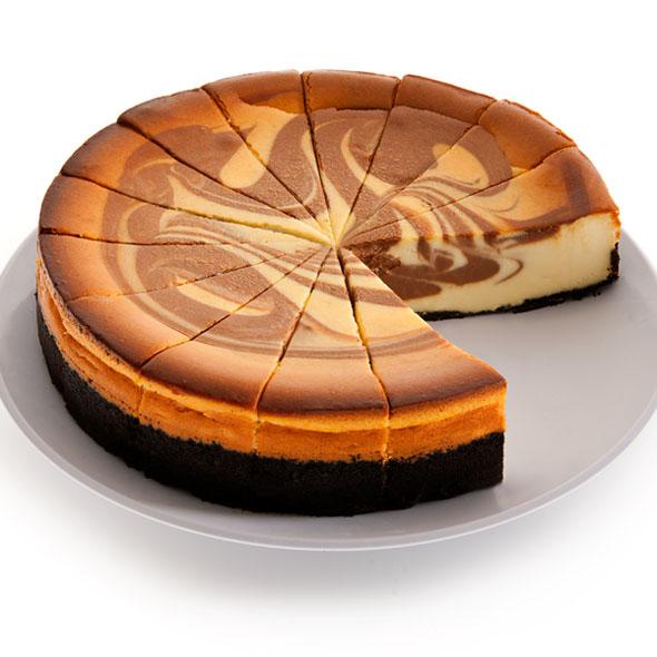 Chocolate Swirl Cheesecake - 9 Inch