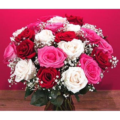 Promo Red in a Bouquet