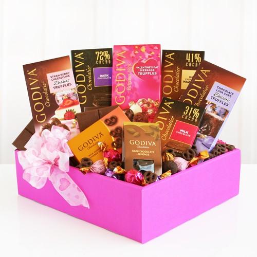 Godiva Valentine Box of Temptations