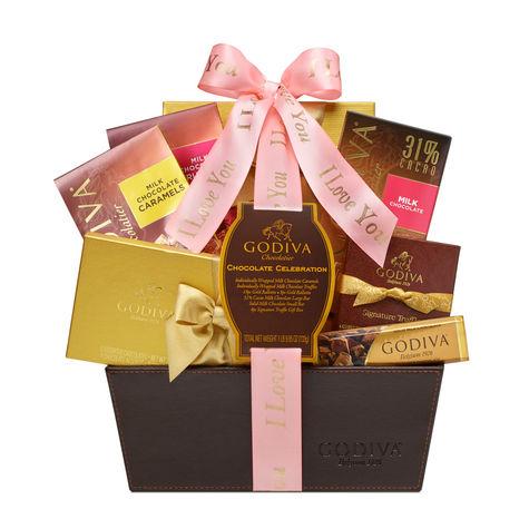 I Love You Chocolate Celebration Basket