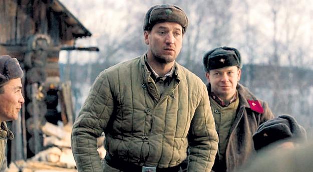 В «28 панфиловцах» Александр исполнил роль рядового Москаленко