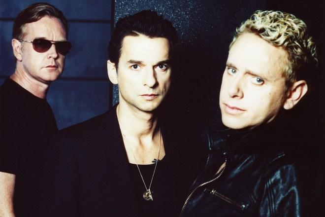 Трио «Depeche Mode» в 1996 году