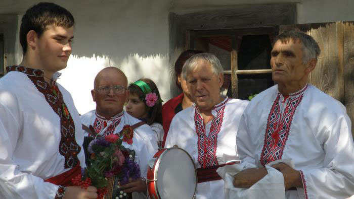 Украинские традиции на свадьбе