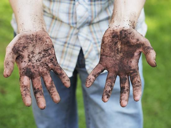 Фото грязные руки