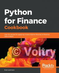 Python for Finance Cookbook: Over 50 recipes for applying modern Python libraries to quantitative finance to analyze data